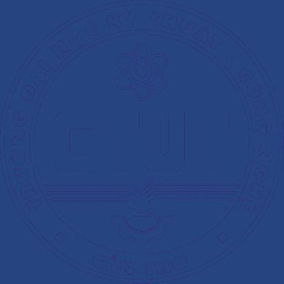 Logo Trường Đại học Kỹ thuật - Công nghệ Cần Thơ