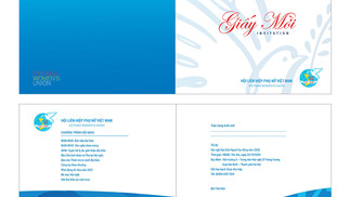 Download Giấy Mời Hội LHPN Việt Nam File Vector CDR AI PDF