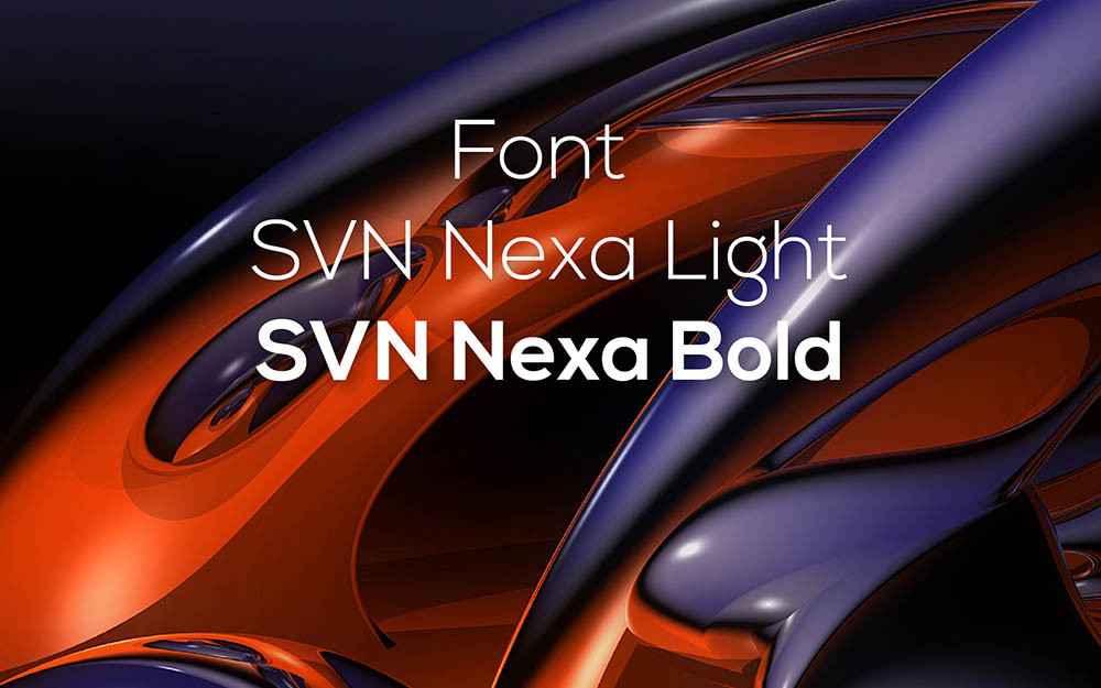 Font SVN-Nexa Light Bold Việt Hóa