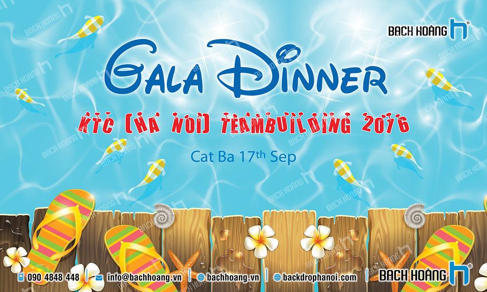Mẫu backdrop phông Gala Dinner, Team Building đẹp nhất 07