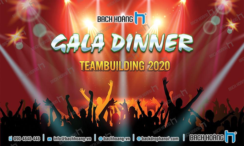 Mẫu backdrop phông Gala Dinner, Team Building đẹp nhất 02