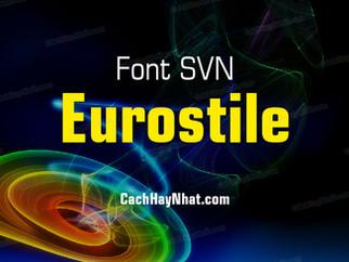 Download bộ font SFU Eurostile Việt hóa