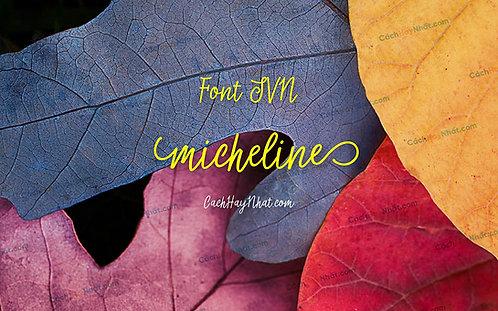 Download Font SVN-Micheline Việt Hóa