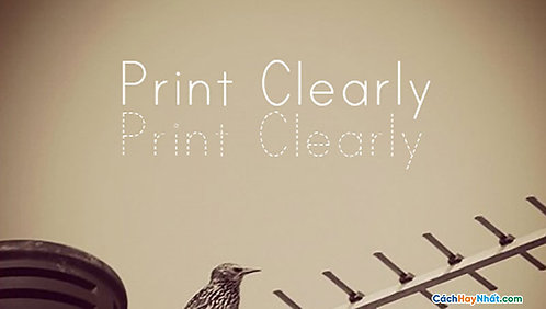 Font PrintClearly1 Download Free
