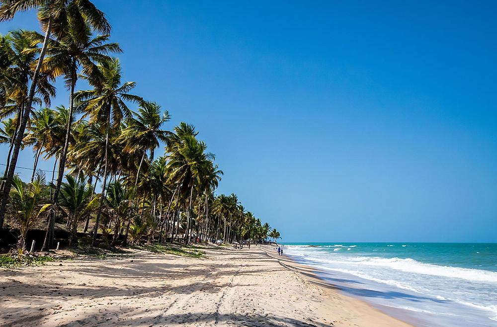 10 bãi biển dài nhất thế giới