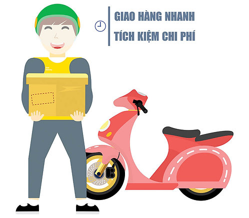 Download Vector Giao Hàng Nhanh File CDR Corel
