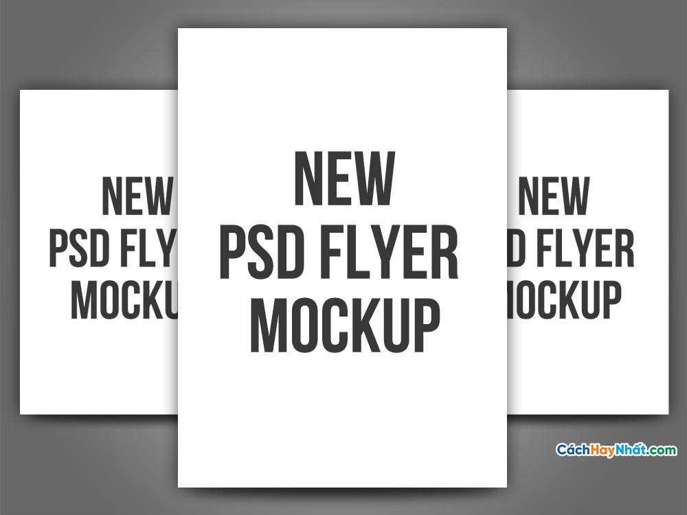 Mockup Flyer Templates