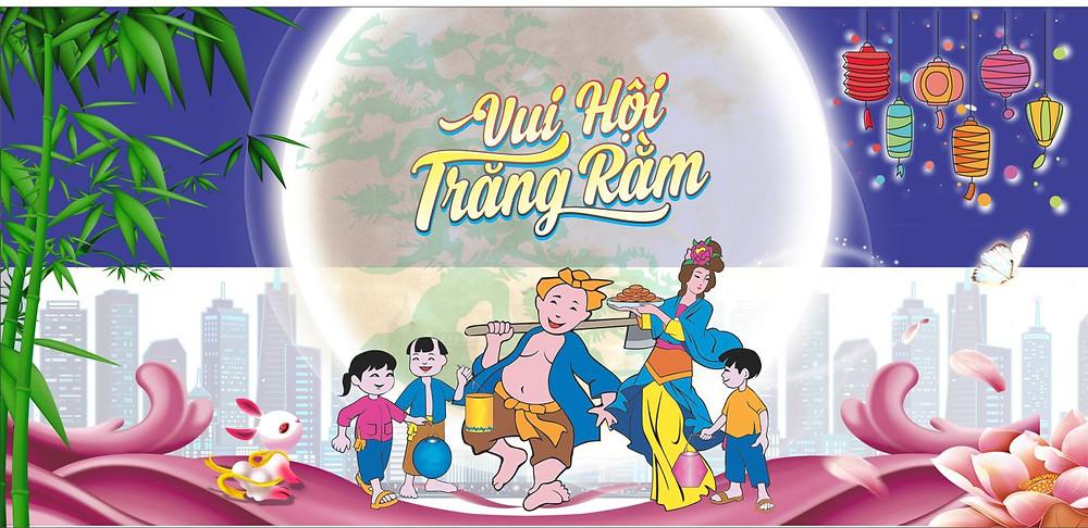 Background Phông Nền Trung Thu Vector Corel CDR Part21