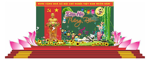 Tải file Background Sân Khấu Trung Thu Vector Corel CDR 98