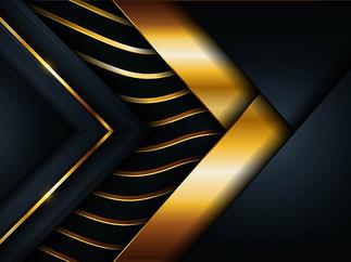 Background Đẹp - Background Nền Đen Sẫm Sang Trọng Với Line Vàng