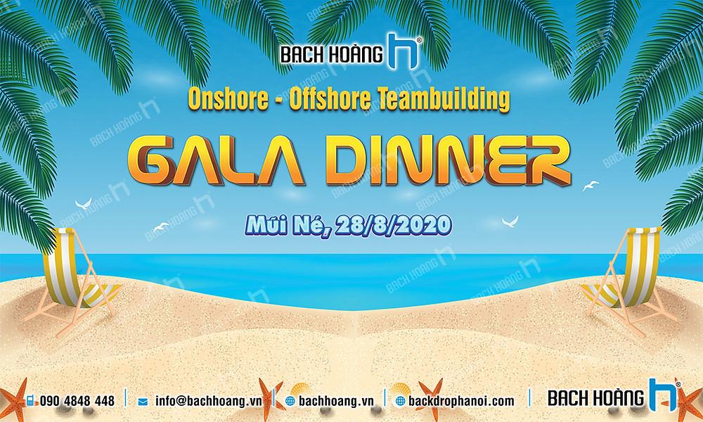 Mẫu backdrop phông Gala Dinner, Team Building đẹp nhất 65