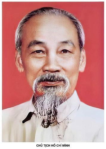 Download ảnh chân dung Chủ Tịch Hồ Chí Minh