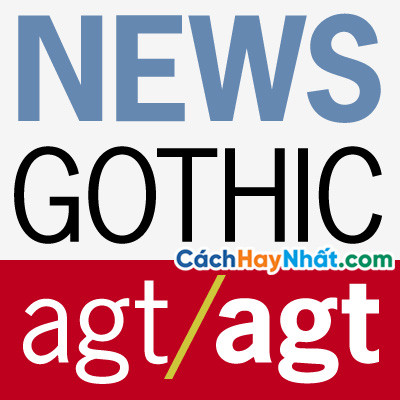 Fonts Chữ News Gothic Std