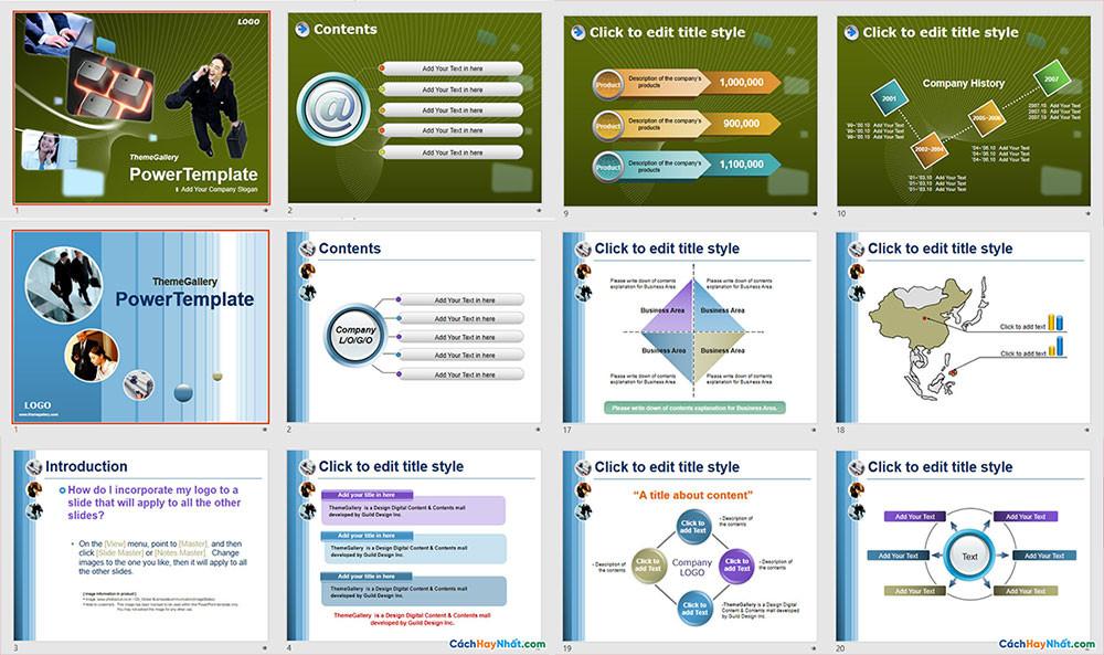 Download Mẫu Powerpoint Template Free Đẹp - Phần 02