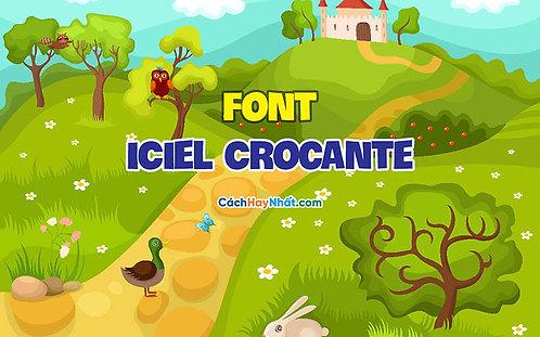 Download Font iCiel Crocante Việt hóa