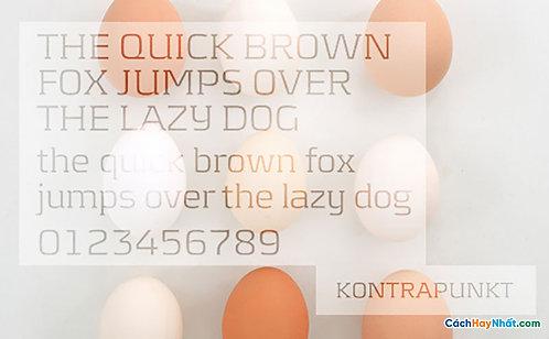 Font Kontrapunkt Download Free