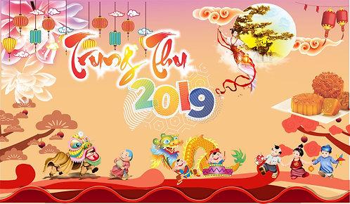 Tết Trung Thu Mid-Autumn Festival Vector Corel CDR 24
