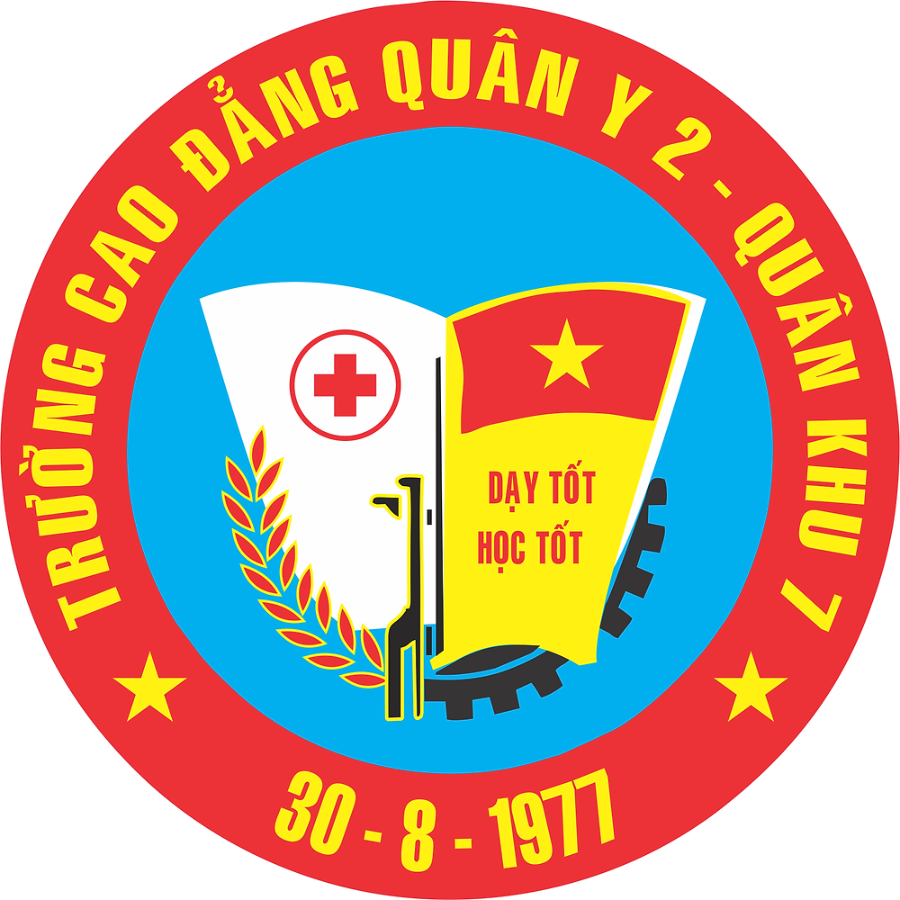 Logo Trường Cao đẳng Quân y 2