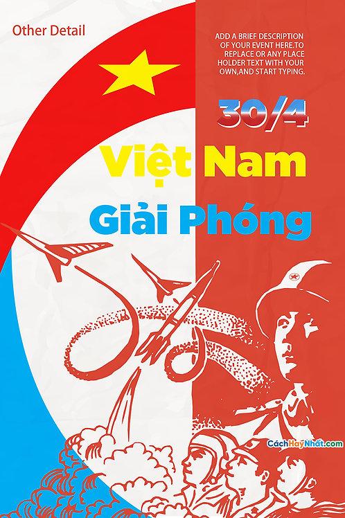Pano Giải Phóng Miền Nam 30/4 - Pano Liberation Of The South 30/4