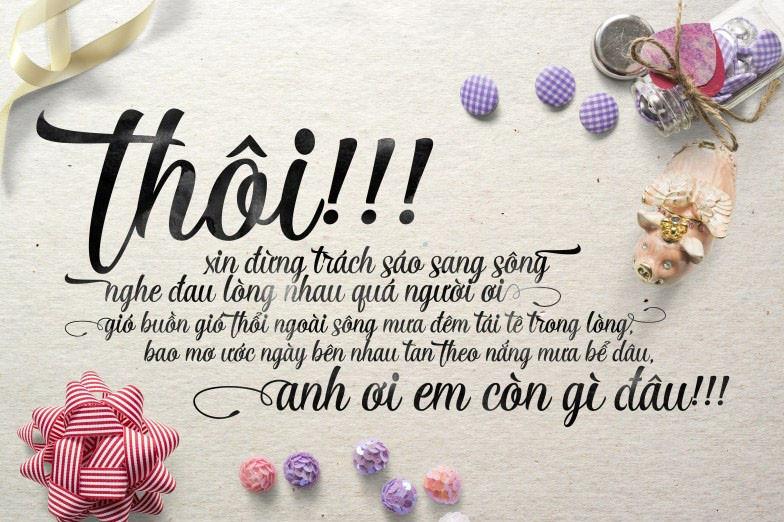 Bộ Font Chữ Của Việt Linh VL Font Full Việt Hóa