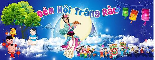 Tết Trung Thu Mid-Autumn Festival Vector Corel CDR 23