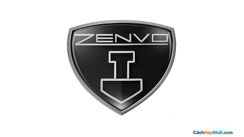 Logo Zenvo 3D Vector PDF PNG