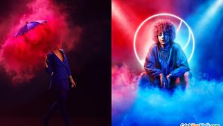 20 Ý Tưởng Chụp Ảnh Thời Trang Và Quảng Cáo Hiệu Ứng Neon Tuyệt Đẹp