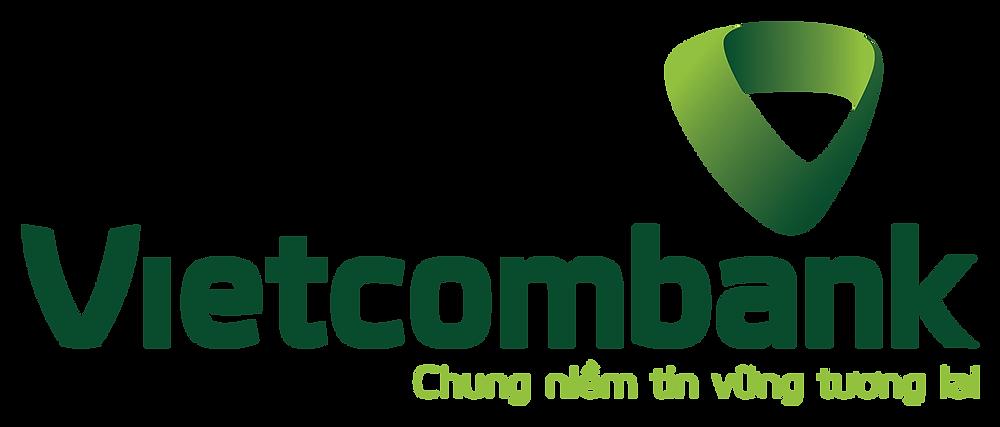 Logo Vietcombank có slogan PNG