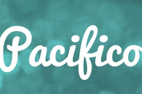 Download Phông Chữ Calligraphy - Pacifio Font