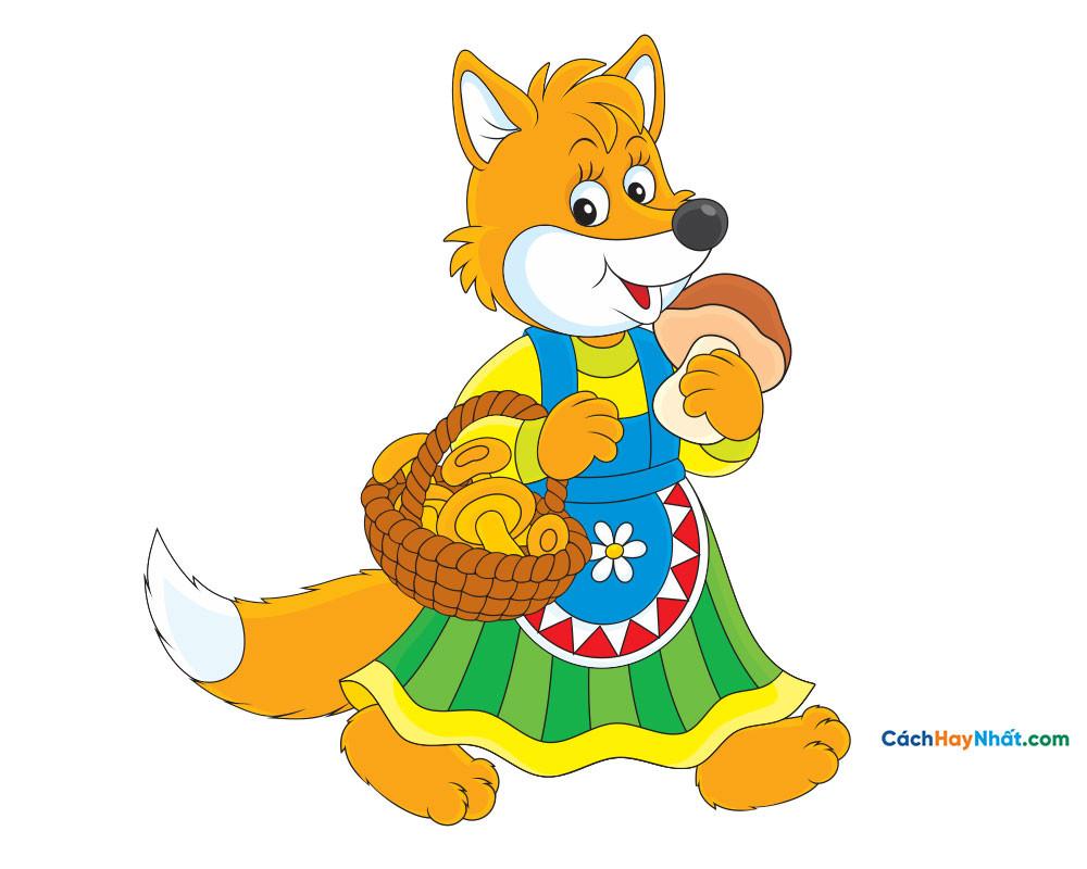 con cáo - fox