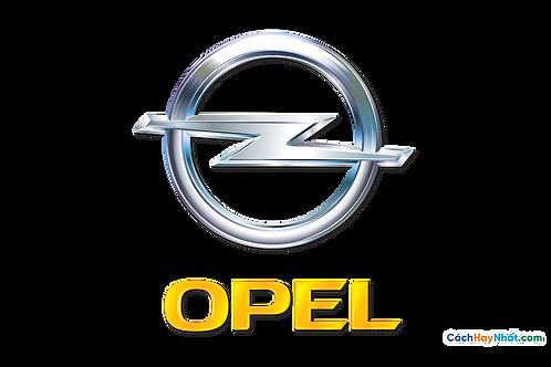 Logo Opel 3D Vector PDF PNG