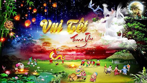 Tết Trung Thu Mid-Autumn Festival Vector Corel CDR 61