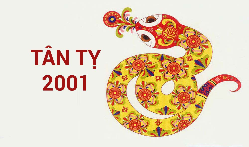 Tân Tỵ 2001