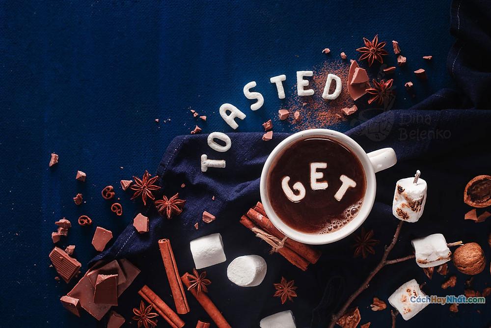 Ý tưởng quảng cáo đồ ăn nghệ thuật chế tác ảnh được dina nướng