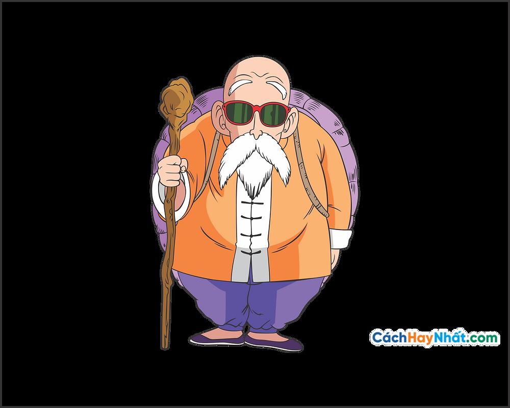 Vector Corel PNG 7 Dragon Ball - Thần Rùa