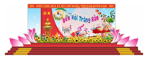 Tải file Background Sân Khấu Trung Thu Vector Corel CDR 99