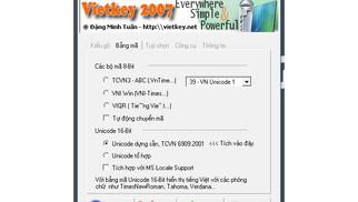 Tải Vietkey 2007 - Bộ Gõ Tiếng Việt Gọn Nhẹ