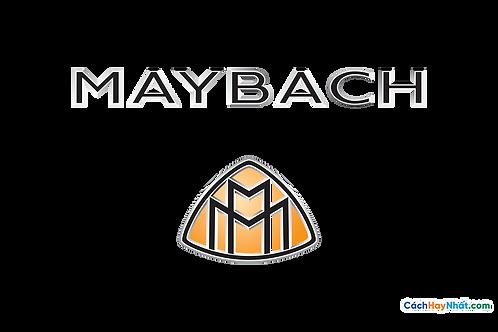 Logo Maybach 3D Vector PDF PNG