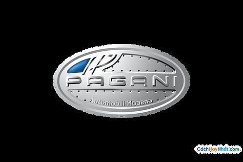 Logo Pagani 3D Vector PDF PNG