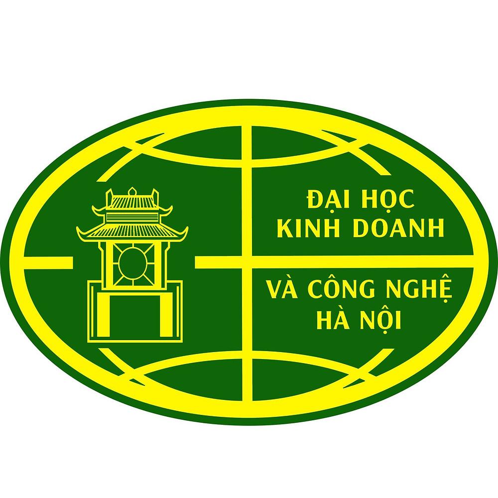 Logo Trường Đại học Kinh doanh và Công nghệ Hà Nội