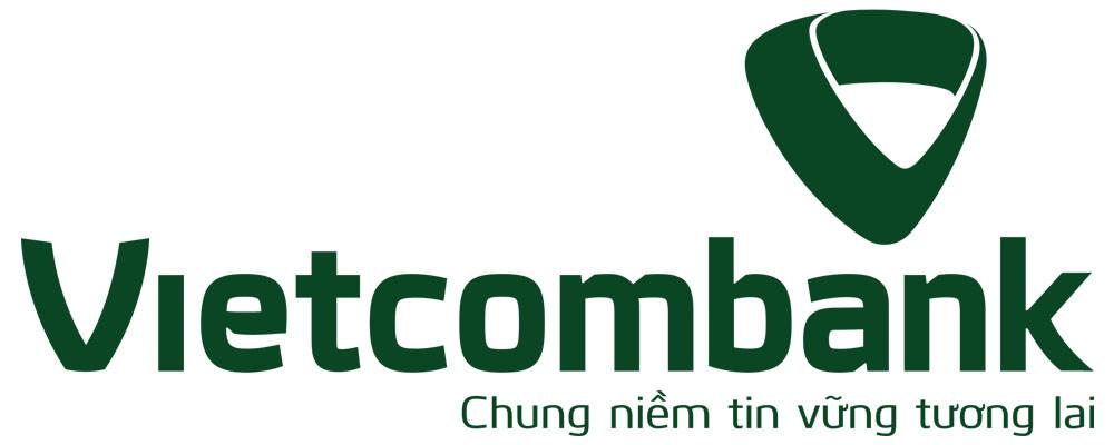 Logo Vietcombank một màu