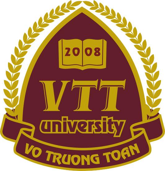 Logo Trường Đại học Võ Trường Toản
