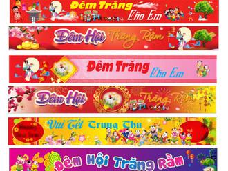 Banner Băng Rôn Trung Thu Vector Corel CDR Part30
