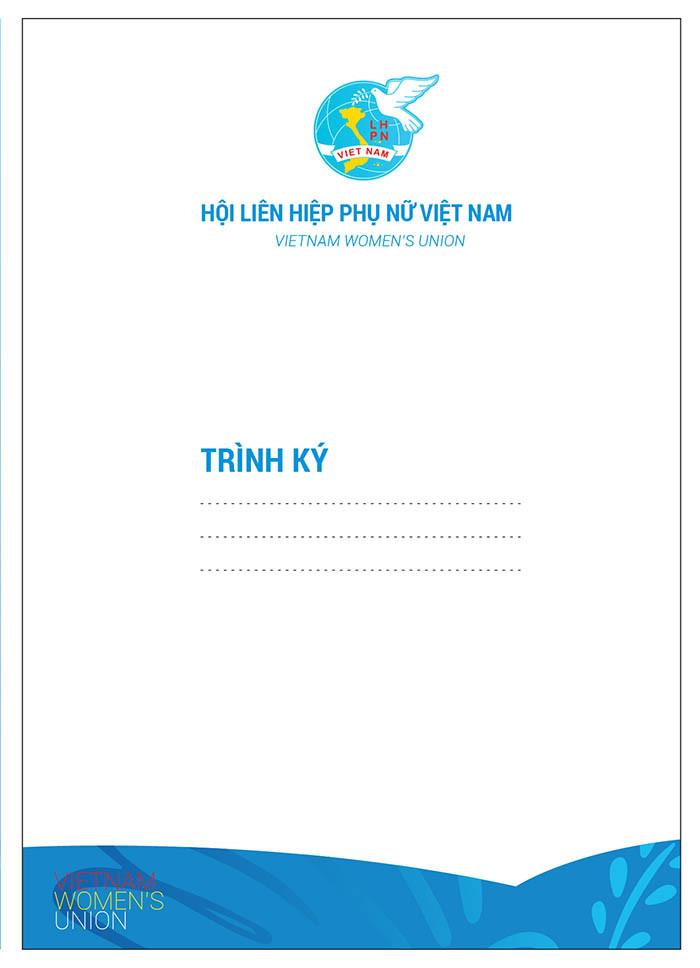 Trình Ký Letterhead Hội LHPN Việt Nam