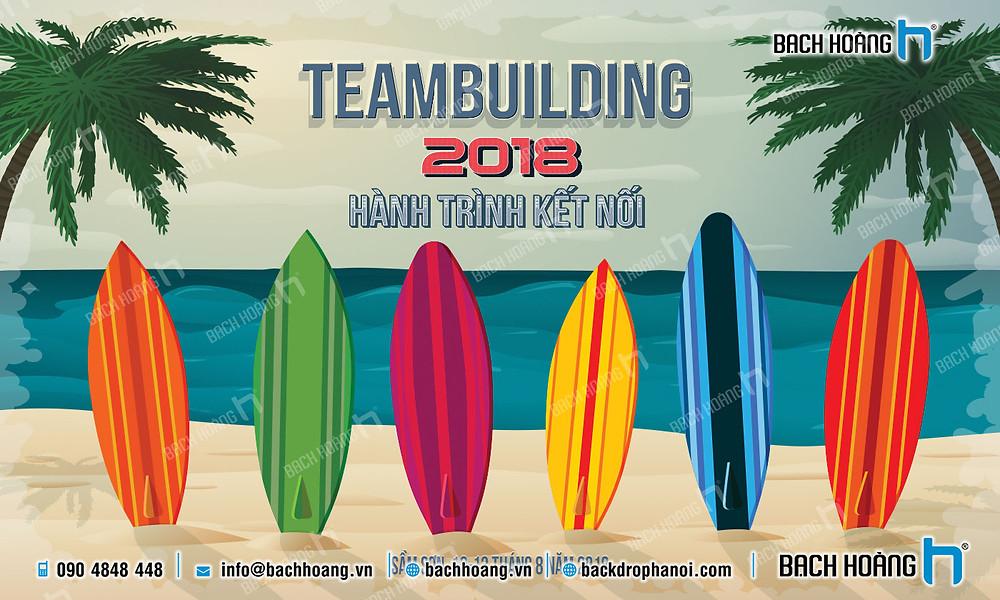 Mẫu backdrop phông Gala Dinner, Team Building đẹp nhất 20