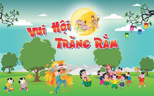 Tết Trung Thu Mid-Autumn Festival Vector Corel CDR 50