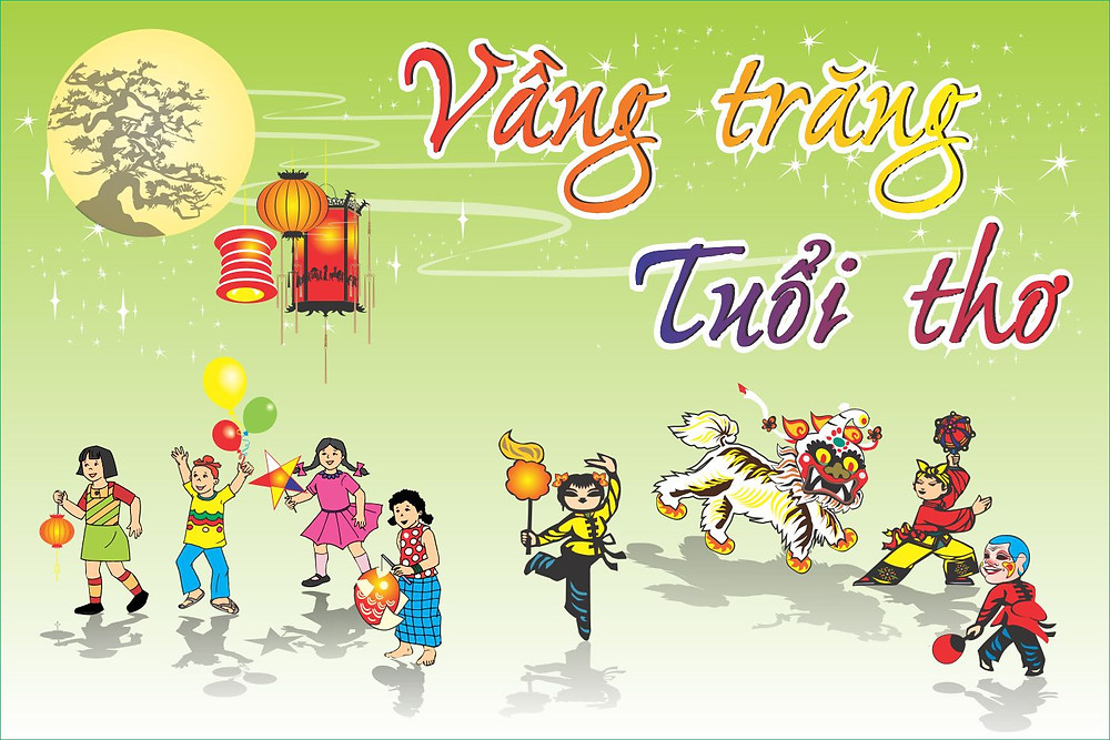 Background Backdrop Trung Thu Vector Corel CDR Part18
