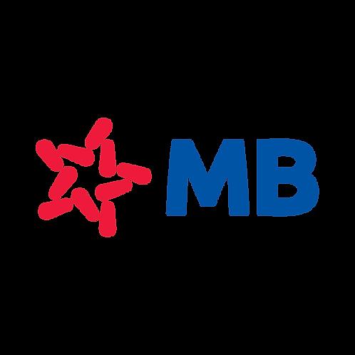MB Bank Logo Vector PDF PNG