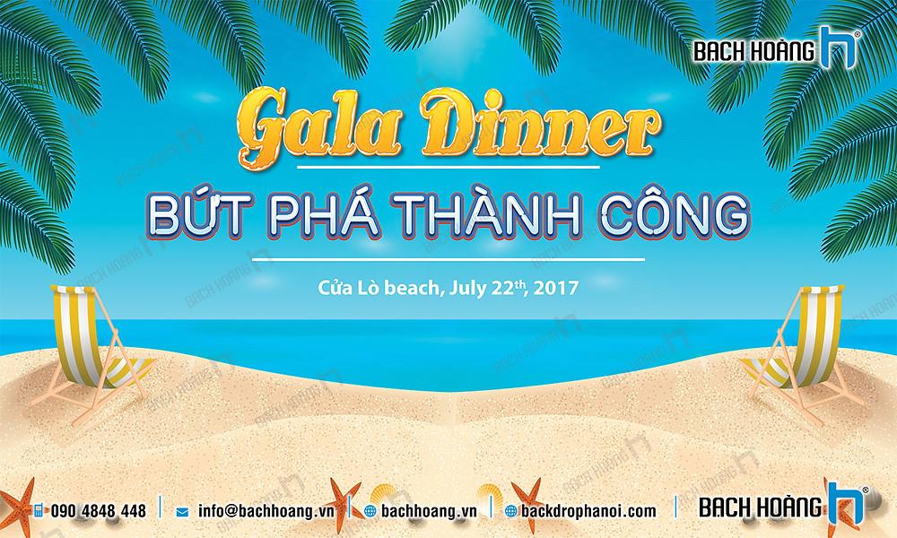 Mẫu backdrop phông Gala Dinner, Team Building đẹp nhất 24