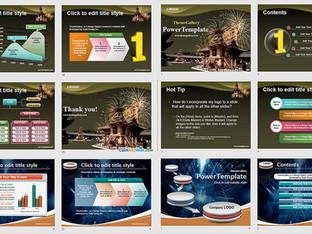 Download Mẫu Powerpoint Template Free Đẹp - Phần 05